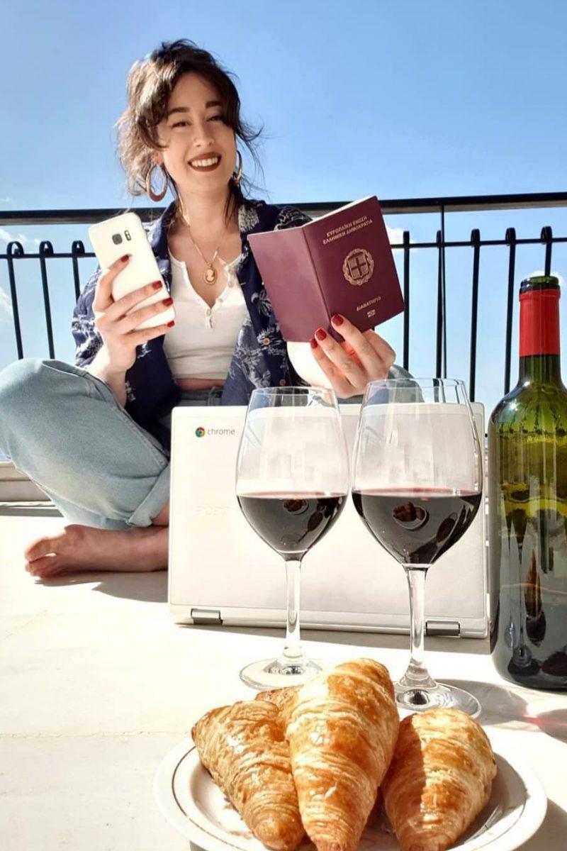 wine ginie Georgia Panagopoulou